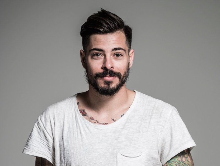 Michael Dueñas, hairstylist and president of new nonprofit Support Creatives