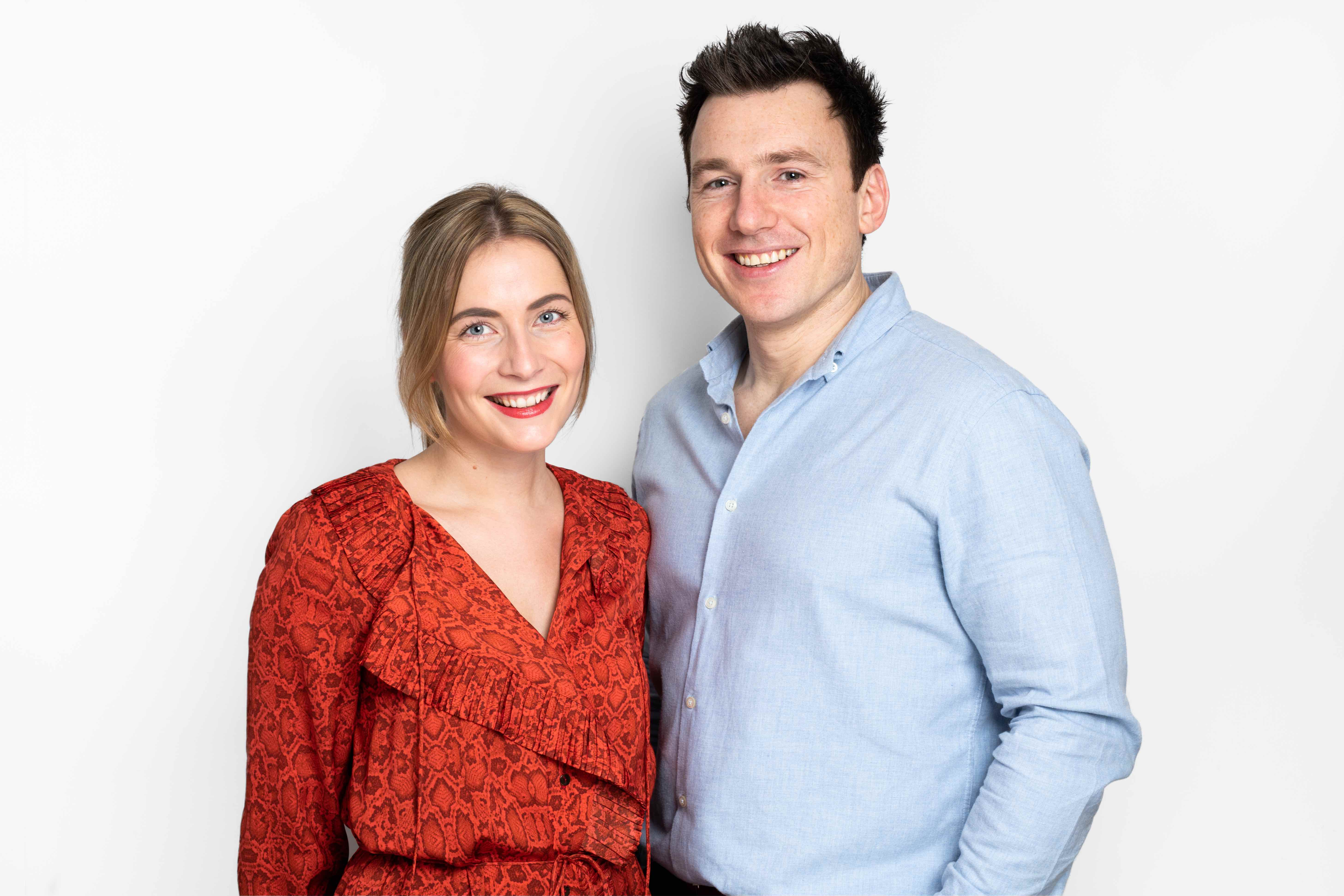 The Inkey List co-founders Colette Laxton and Mark Curry