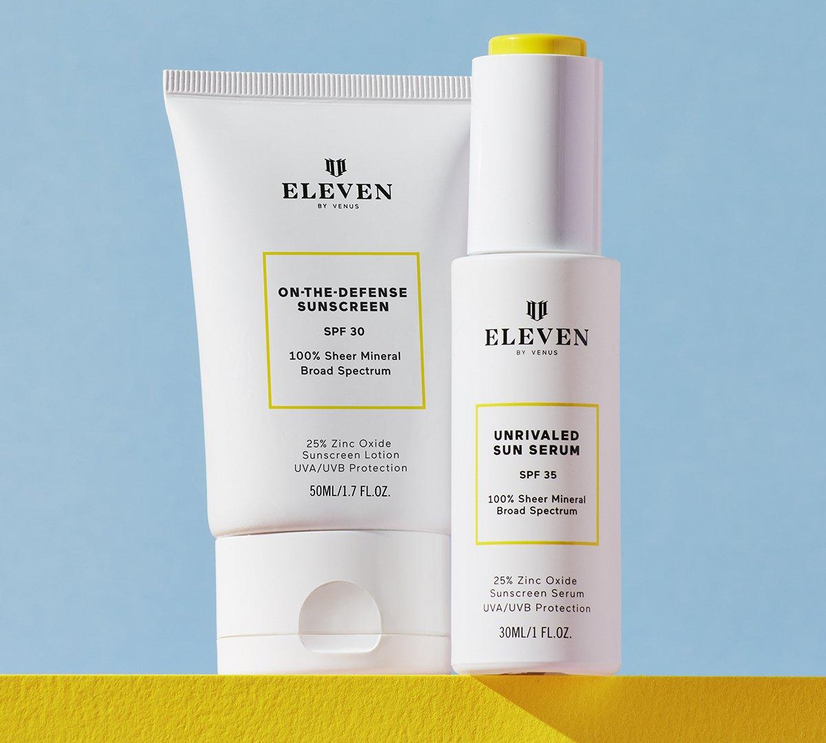 EleVen sunscreens