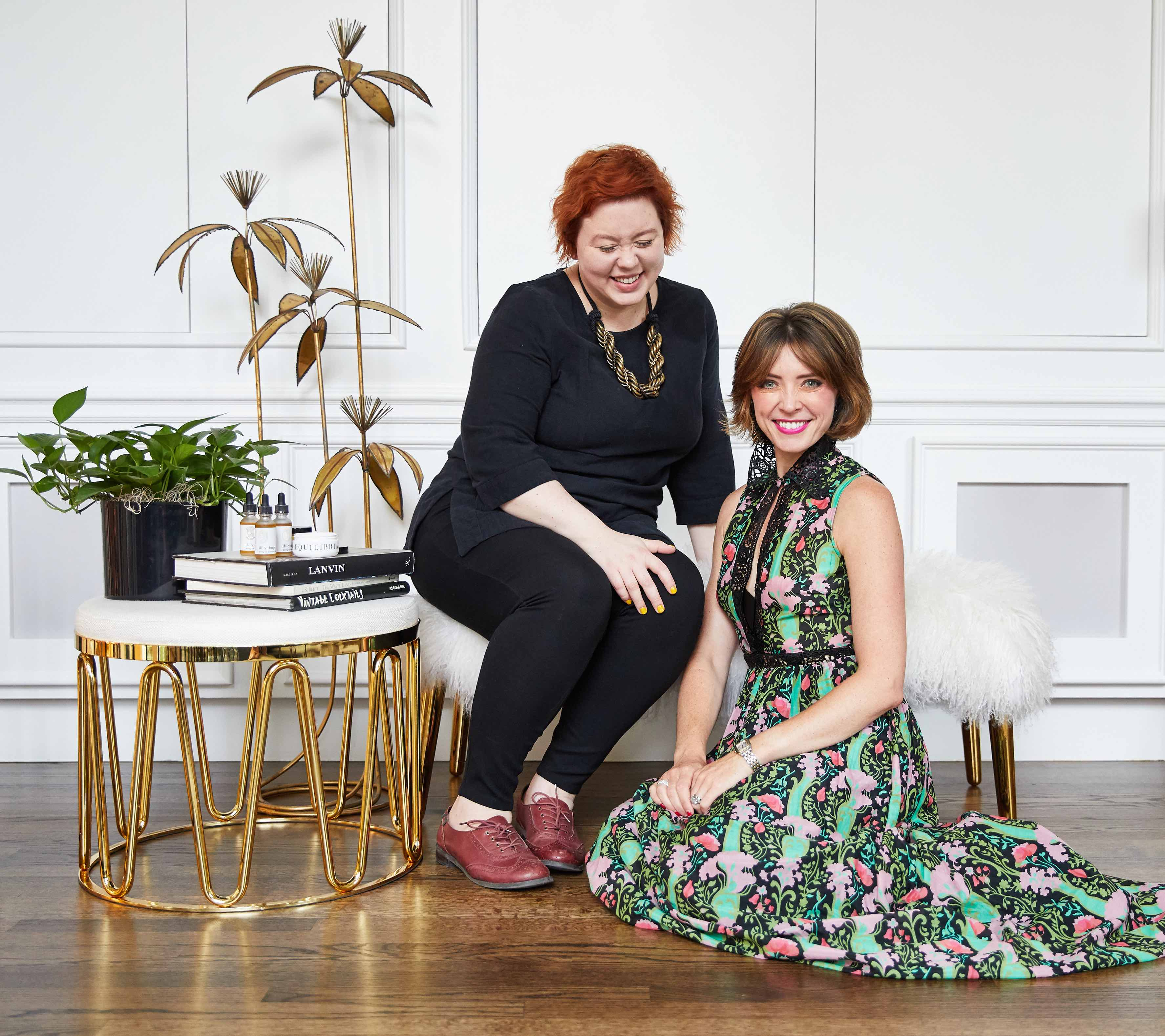 Equilibria co-founders Marcy Capron Vermillion and Coco Meers