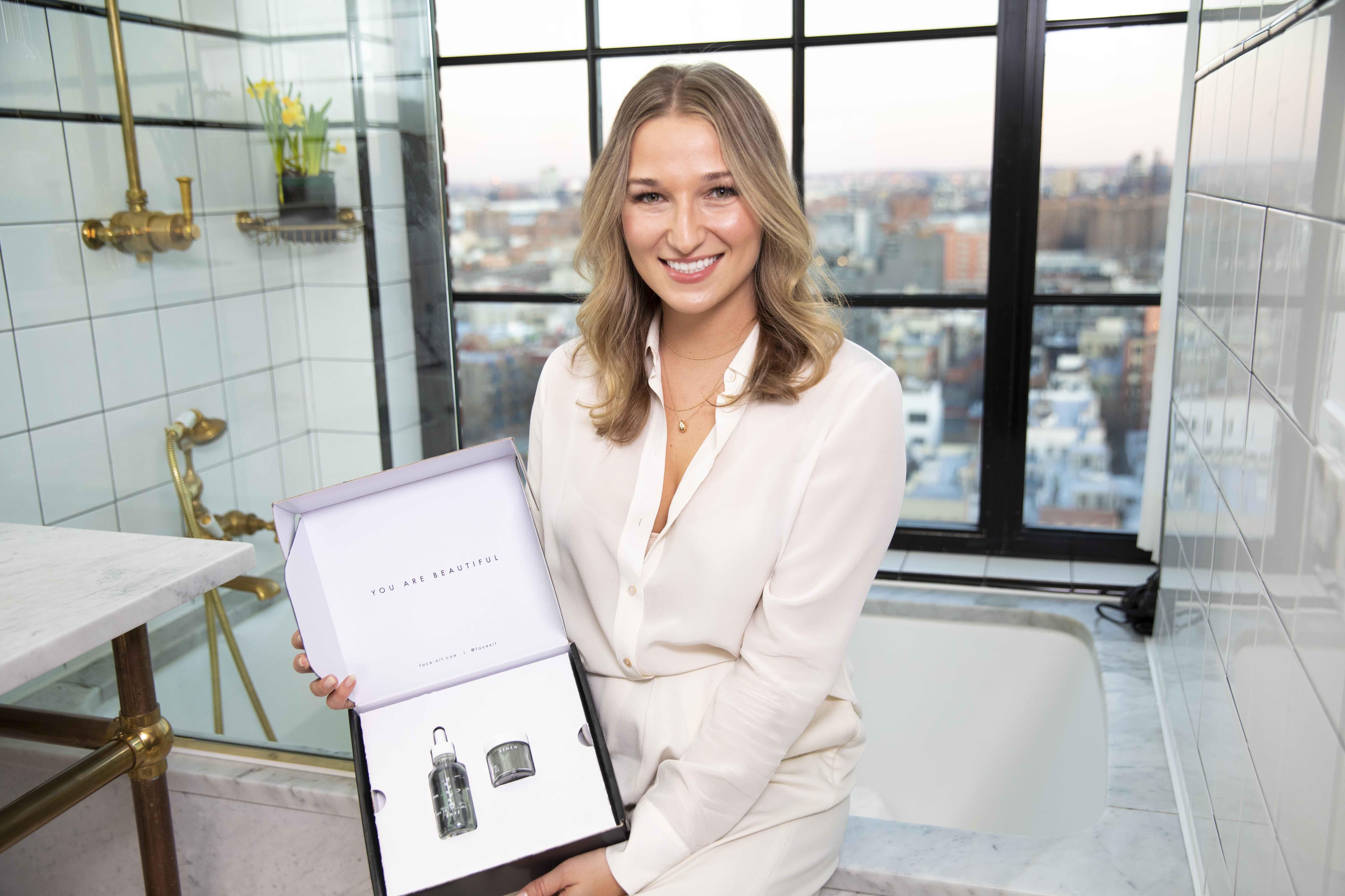 Face-Kit founder Elizabeth Schmidt
