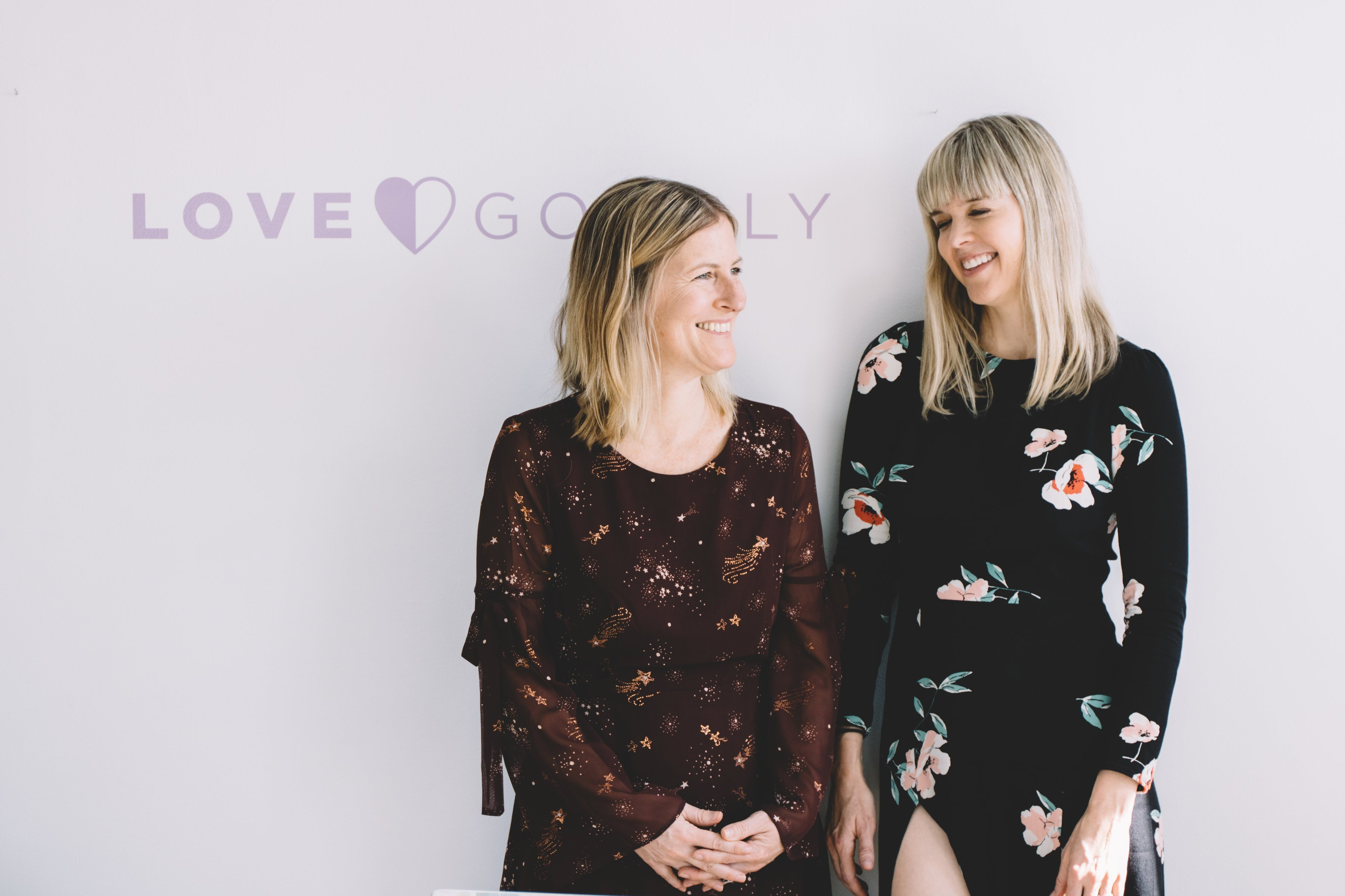 Love Goodly founders Justine Lassoff and Katie Bogue Miller