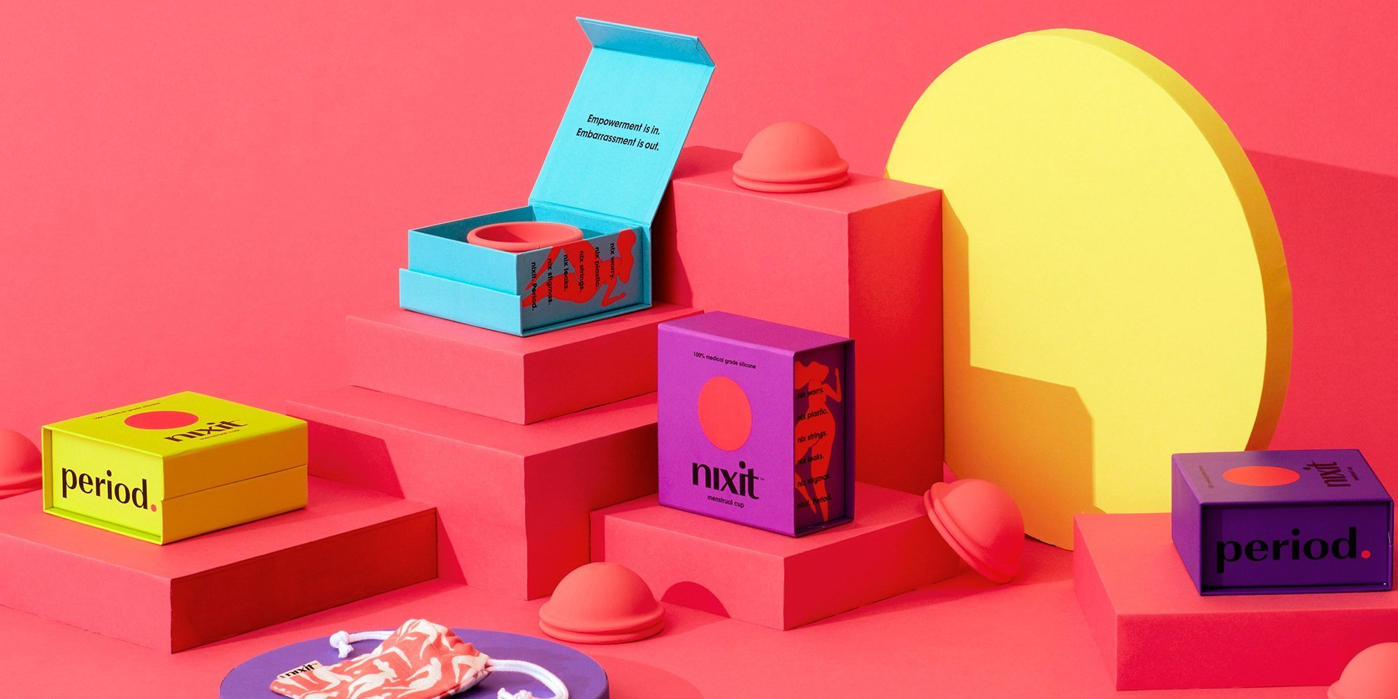 New Bold Brand Nixit Wants Women To Nix Uncomfortable Menstrual Cups And Period Shame
