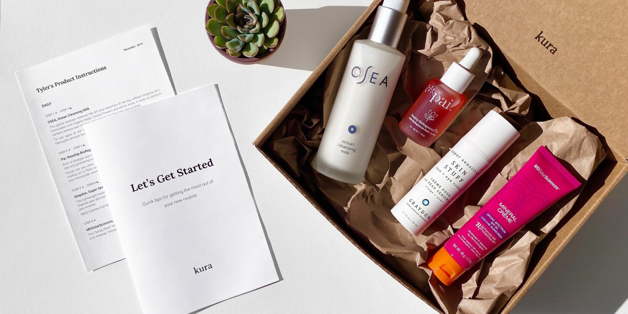 """""""Stitch Fix For Skincare"""": New E-Tailer Kura Skin Makes It Easy To Put Together Skincare Routines"""