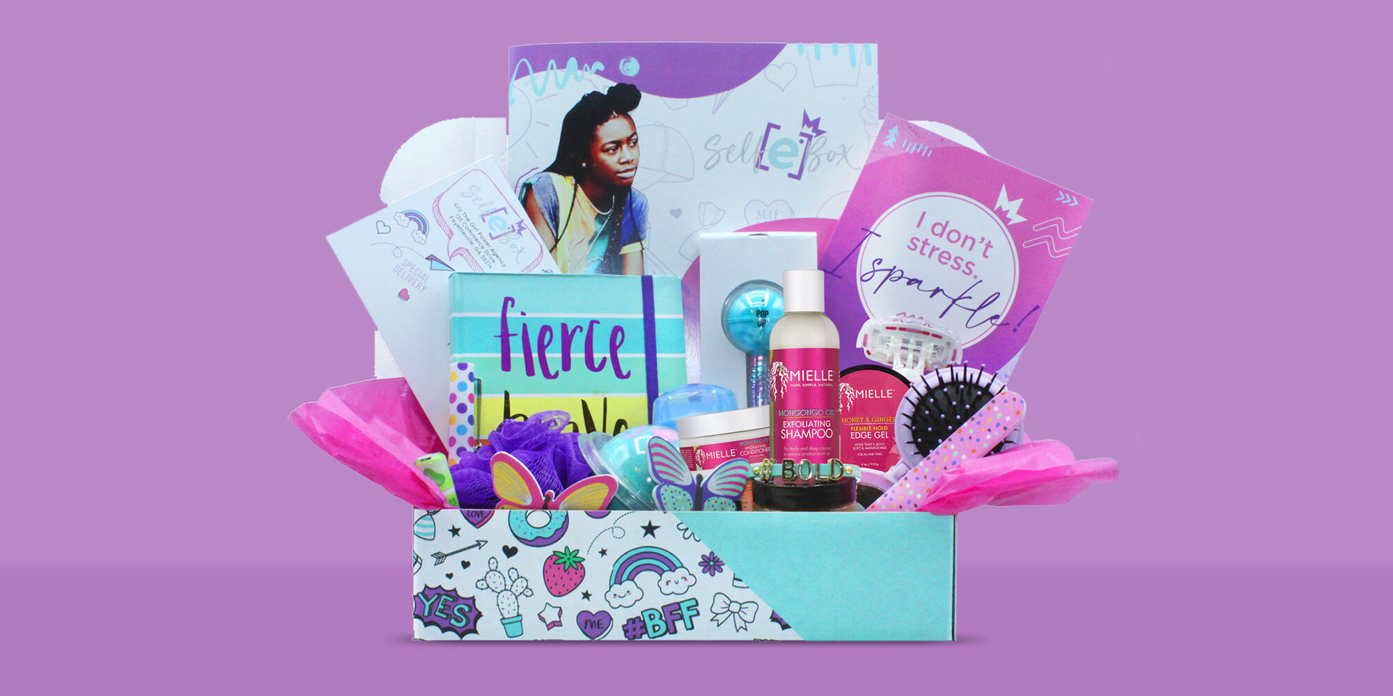 New Beauty Subscription Service SelfE Box Celebrates Black Girls