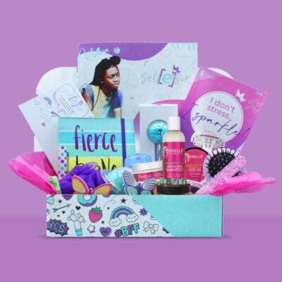 New Beauty Subscription Service SelfE Box Celebrates Black Girls
