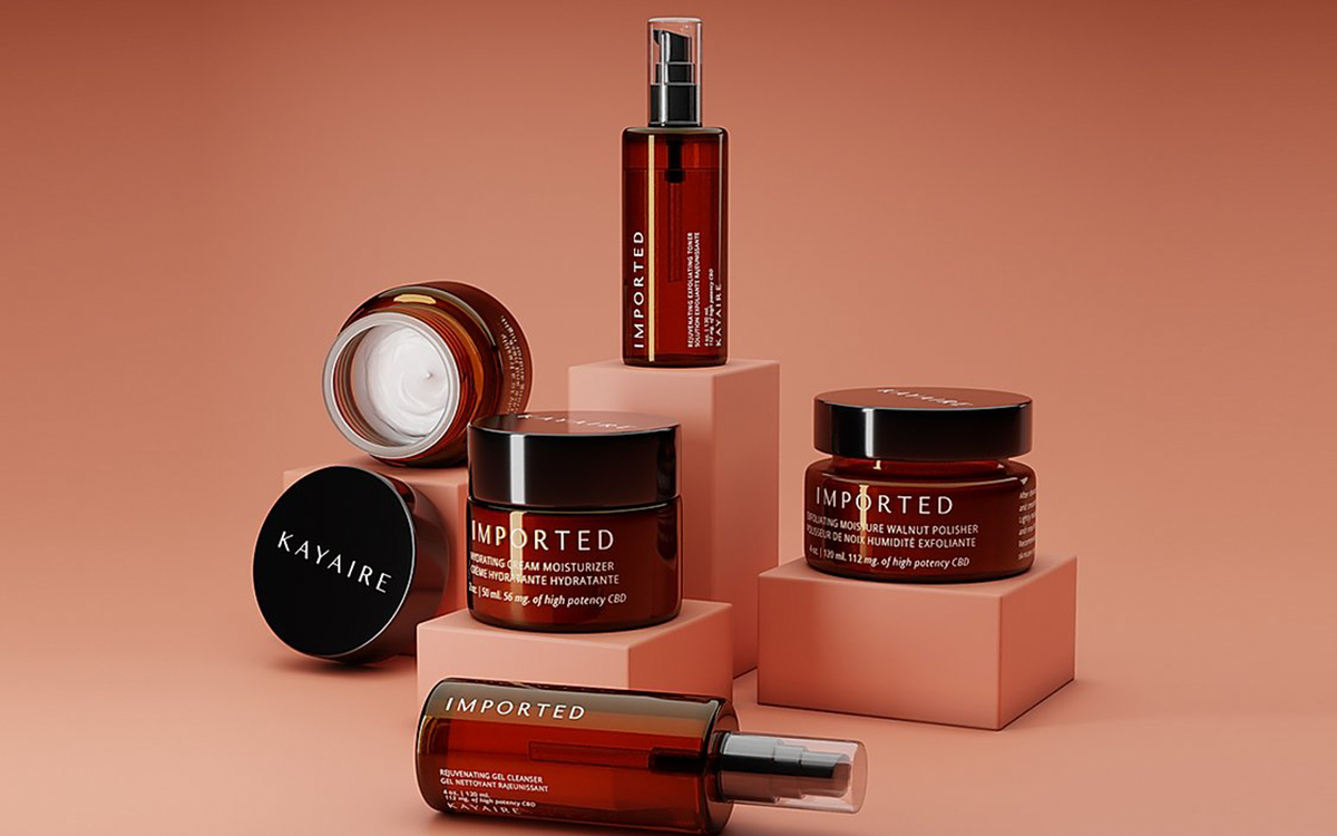 Kayaire's best selling products are its Hydrating Cream Moisturizer and the Exfoliating Moisture Walnut Polisher, formulated for sensitive skin, and skin with darker tones.