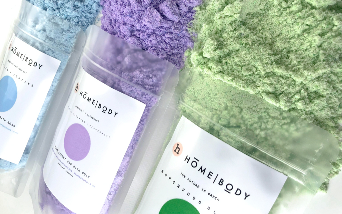 Rebecca Grammer-Ybarra, a two-time Food Network champion, is the first black woman to win a televised baking competition show. Now she's the founder of Homebody, a full spectrum CBD infused collection of bath soaks.