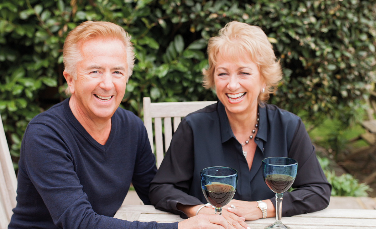 Married couple Mark and Liz Warom founded Temple Spa in 2000.