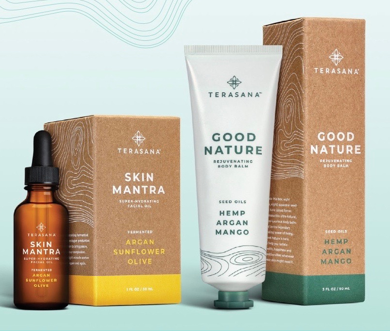 Biossance Parent Company Amyris Acquires Clean Skincare Brand Terasana To Move Into Cannabis Beauty