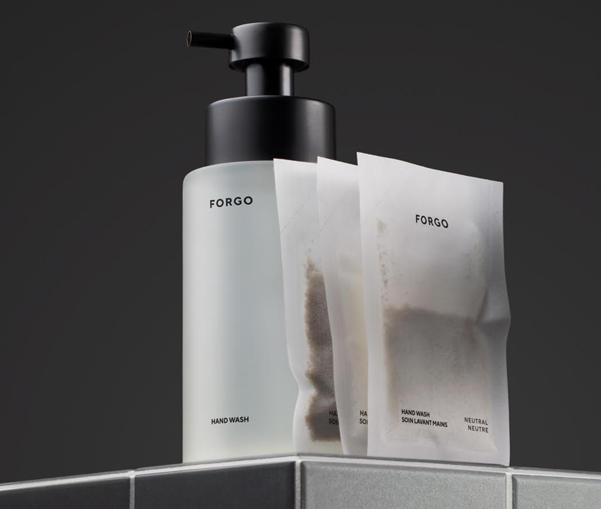 New Powder-To-Liquid Hand Wash Brand Forgo Is Sustainable Minimalism Personified