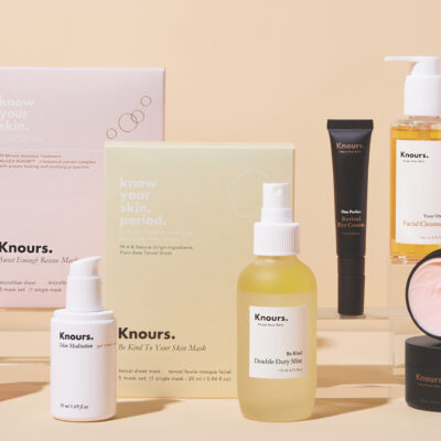 K-Beauty Brand Knours Hits Refresh To Hone Its Focus On The Hot Hormonal Skincare Category
