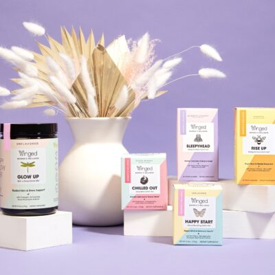 Women's Wellness Specialist Winged Expands To Whole Foods Nationwide With Its First Non-CBD Product Range