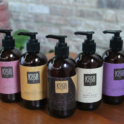 With Kosa Body Care, A Sustainable Design Expert And Spa Owner Harnesses Ayurveda's Healing Benefits For Hair And Skin