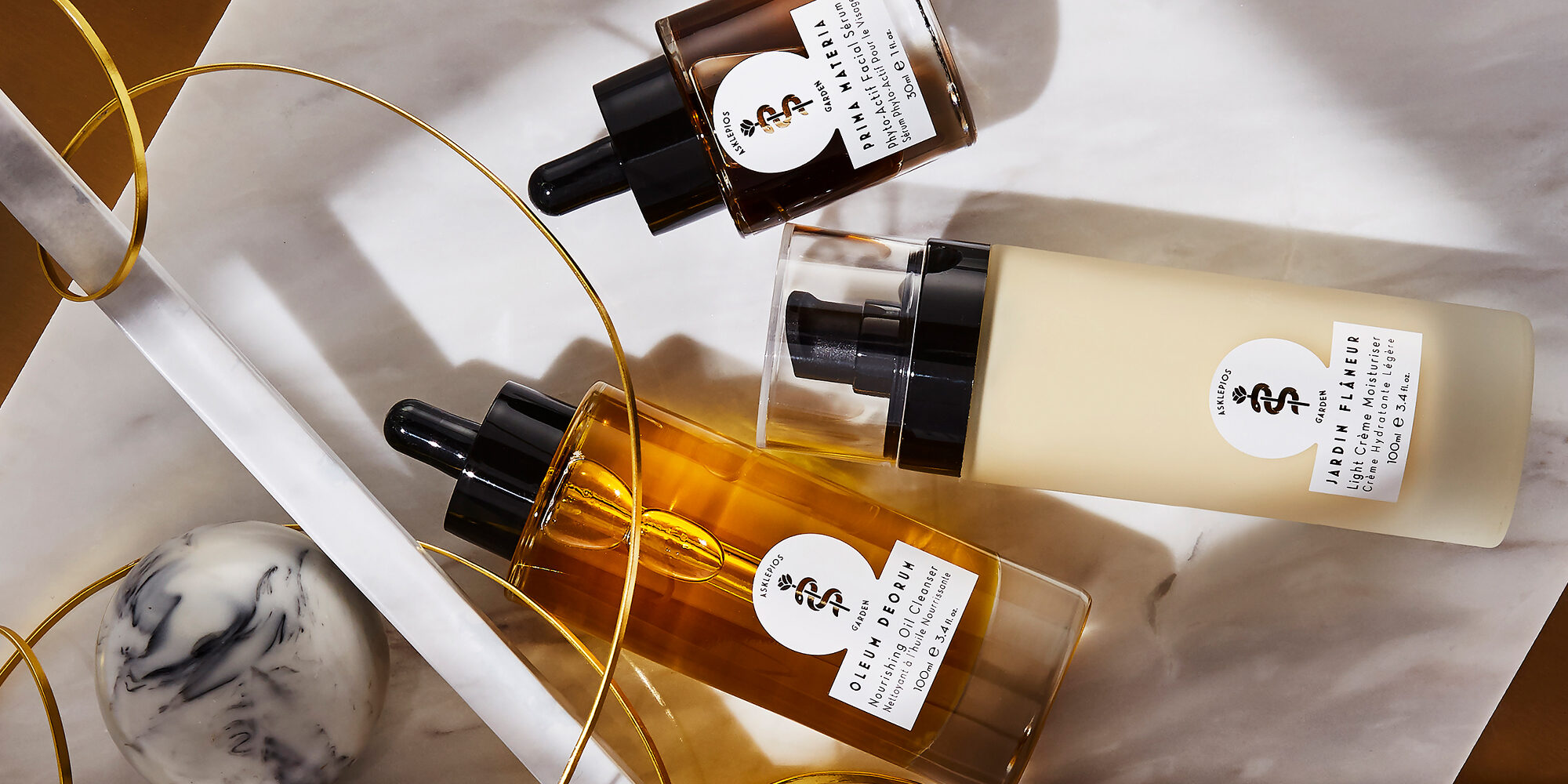 New Brand Asklepios Garden Showcases The Luxury Of Plant-Powered Skincare