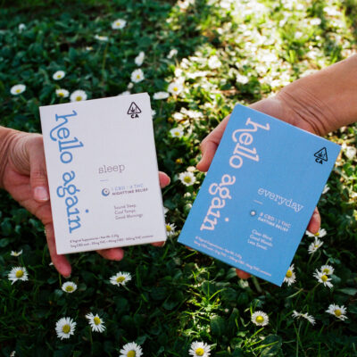 Cannabis-Powered Menopause Brand Hello Again Is Not Your Average Dispensary Find